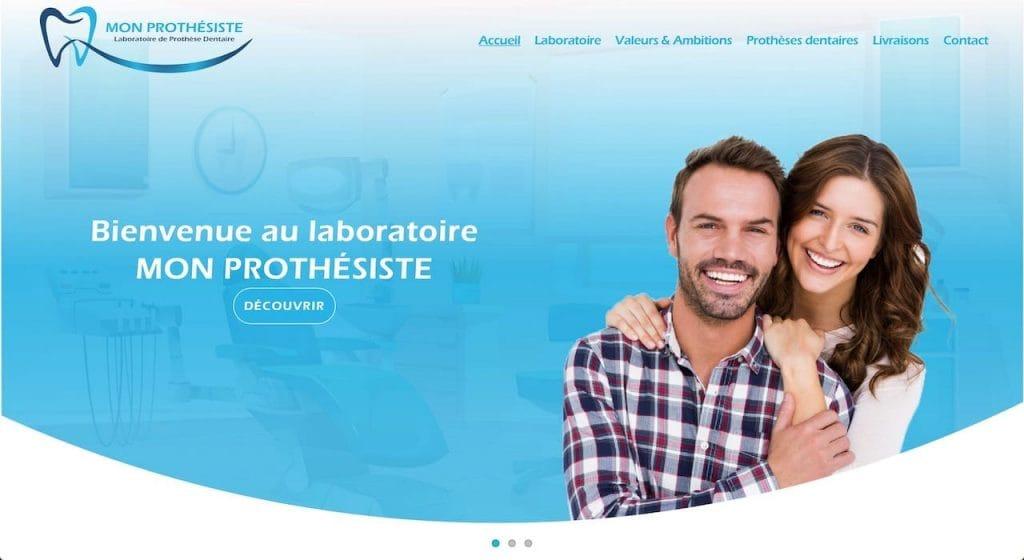 Mon Prothésiste a choisi Webotop pour créer un site professionnel